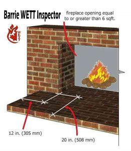 Barrie WETT Hearth Inspecton